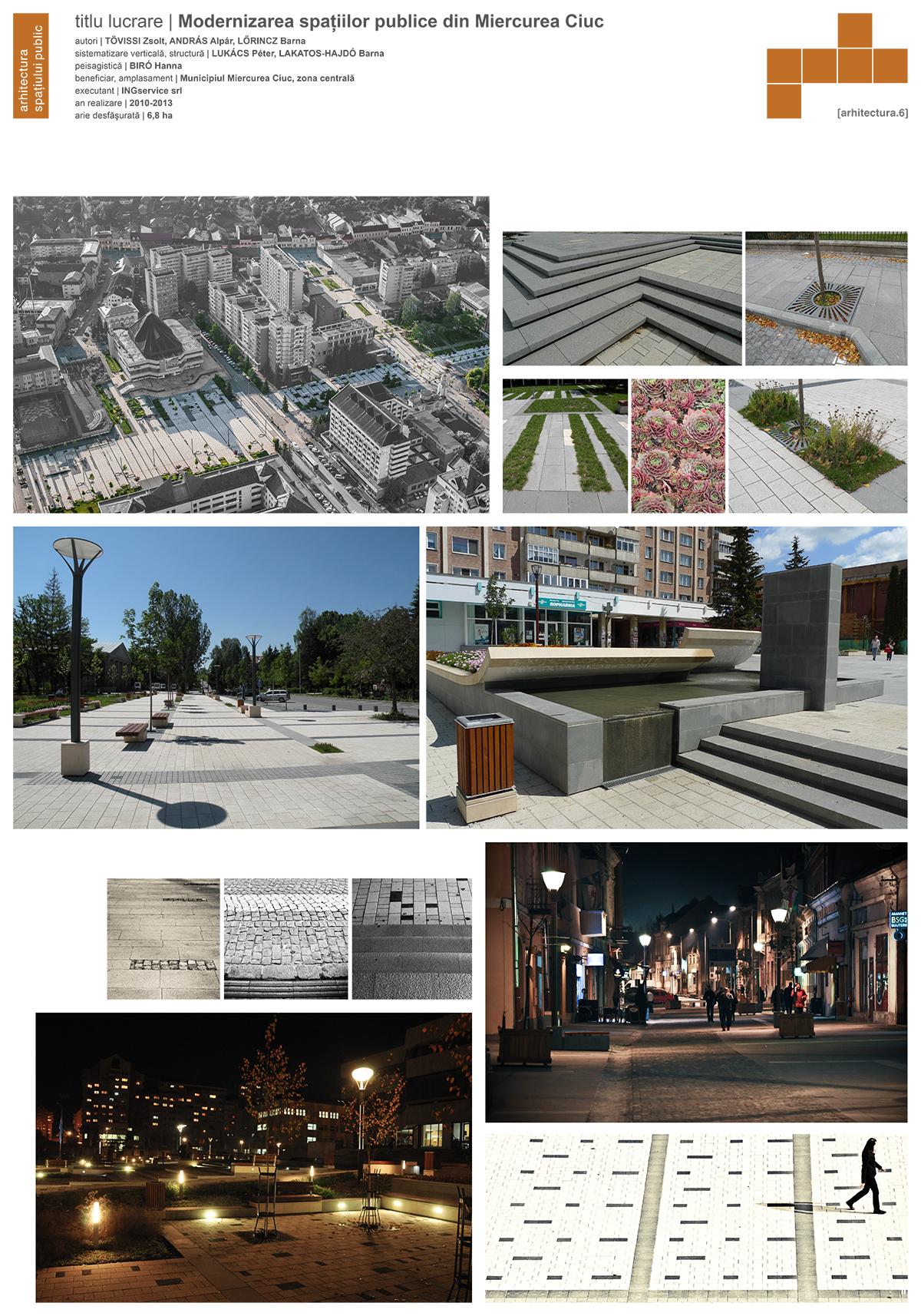 Plant Studio - Modernizarea spatiilor publice urbane din Miercurea Ciuc - b