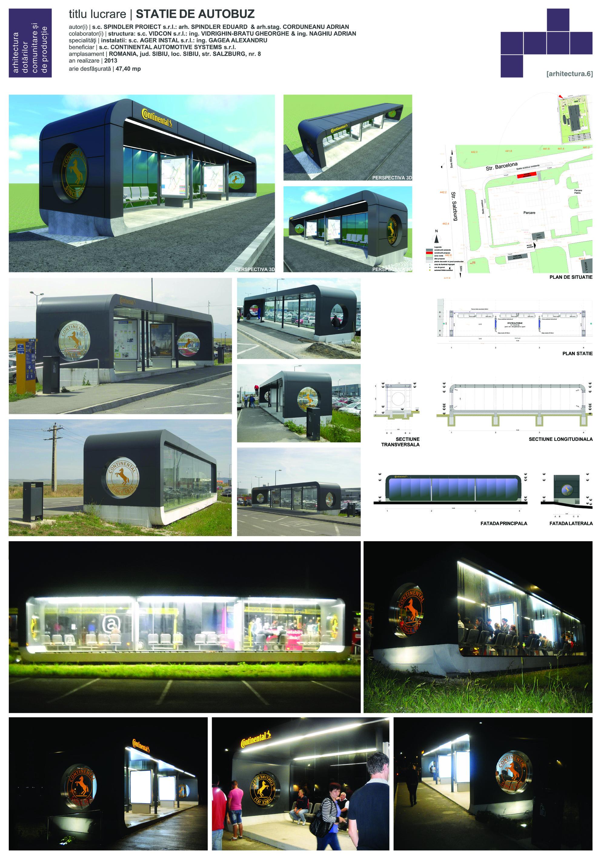 Spindler Proiect - Statie autobuz